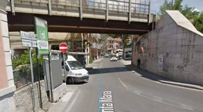 QUARTO/ Chiusa oggi dalle 9 alle 13,30 via Santa Maria per i lavori alla Circumflegrea