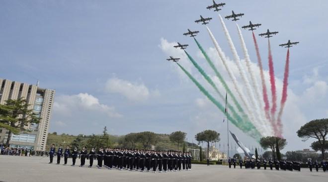 POZZUOLI/ Accademia Aeronautica, giuramento di fedeltà alla Patria per il Corso Zodiaco V°