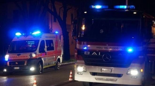 ULTIMORA/ Bacoli, morto 30enne extracomunitario per intossicazione causata da un incendio