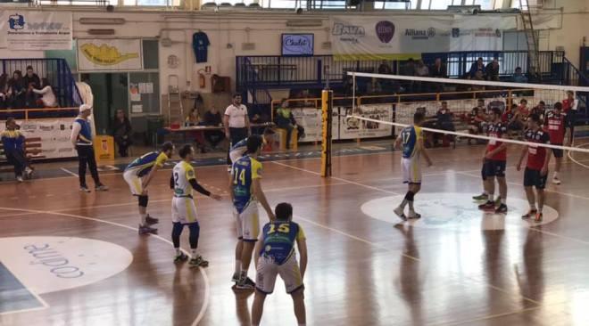 VOLLEY/ Rione Terra, 12° vittoria stagionale contro la Virtus Potenza