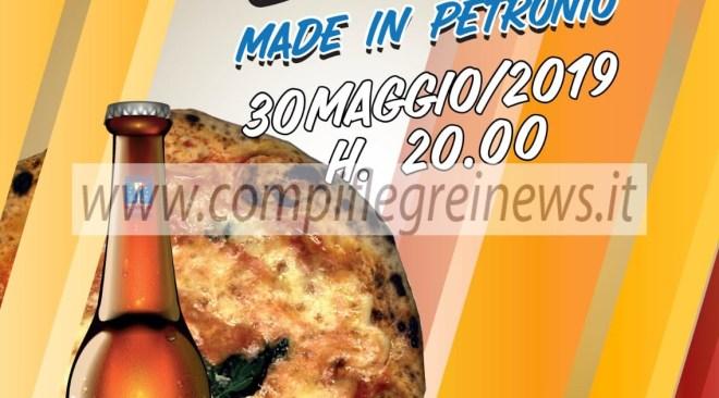 """POZZUOLI/ """"Pizza & Birra made in Petronio"""", giovedì all'alberghiero di Monterusciello"""