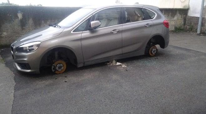 POZZUOLI/ La banda dei pneumatici torna a colpire, nella notte raid a tre auto in via Luciano