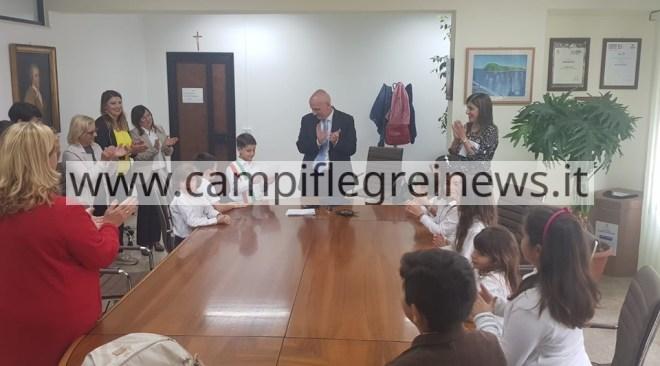 POZZUOLI/ Il I° Circolo Didattico ha eletto il baby sindaco, con giunta e assessori