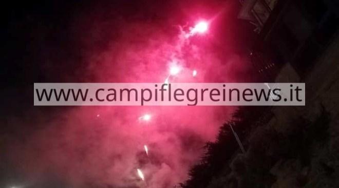 BACOLI/ Violata stanotte in più zone della città l'ordinanza che vieta i fuochi d'artificio rumorosi