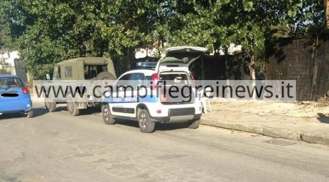 POZZUOLI/ Sequestrata un'area di 600 mq adibita a parcheggio abusivo