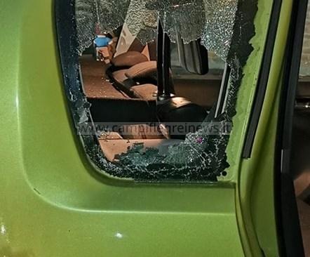 LAGO PATRIA/ Tentativo di furto di un auto con la rottura di un finestrino