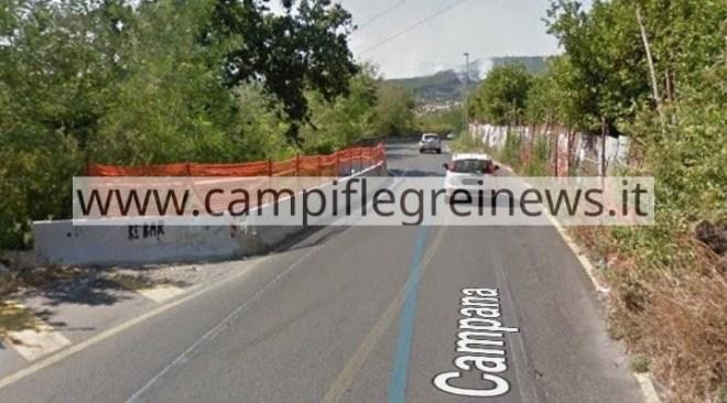 QUARTO/ Chiusa via Campana dal 24 giugno al 9 agosto per lavori di consolidamento del costone
