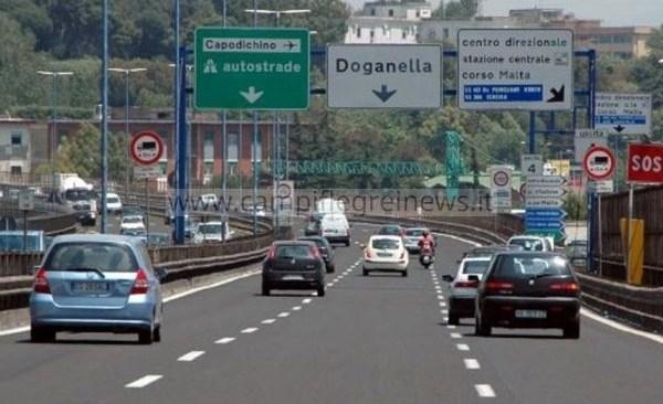 TANGENZIALE/ Chiusa l'uscita del Corso Malta per 5 giorni per lavori al viadotto Capodichino