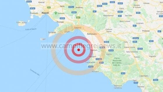 ULTIMORA/ Terremoto nel Golfo di Salerno avvertito dalla popolazione