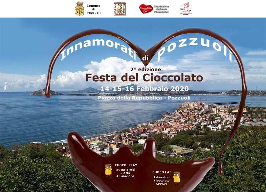 POZZUOLI/ A San Valentino in piazza della Repubblica arriva la Festa del Cioccolato