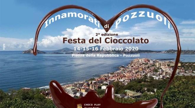 POZZUOLI/ A San Valentino c'è la Festa del Cioccolato in Piazza della Repubblica