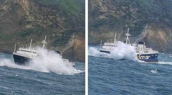 POZZUOLI/ Vento forte e mare mosso, sospesi i collegamenti con Ischia e Procida