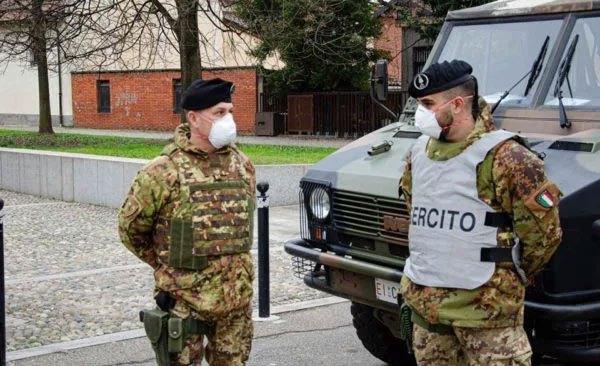 Covid19: in Campania in arrivo l'esercito
