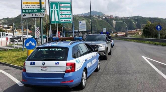 QUARTO/ Contromano sulla Tangenziale, denunciato 46enne e multa da 2mila euro