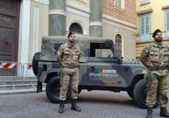 Covid: in Campania 100 militari in più per le strade per il rispetto delle ordinanze