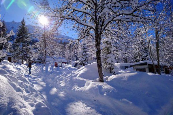 Wintercamping Mit Gratis Skipass Mehr Camping Bergheimat