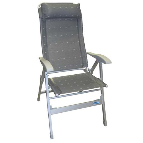 fauteuil aluminium confort maxi gris