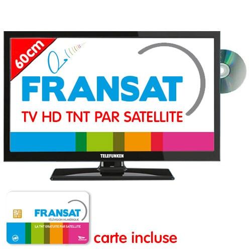 tv hd dvd telefunken 60cm satellite