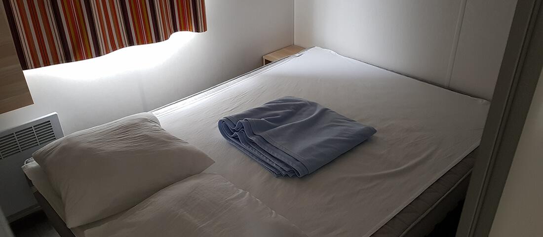chambre_mobil_home_camping_pyrenées_oriental_languedoc_roussillon