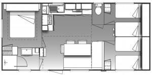 plan_mobil-home_familliale_six_places_camping_les_cerisiers_a_vernet_les_bains