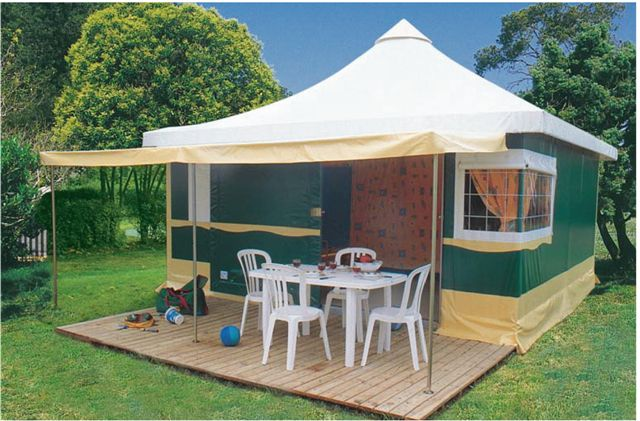 Le Kiwi Camping Oleron Location De Bungalow Toil