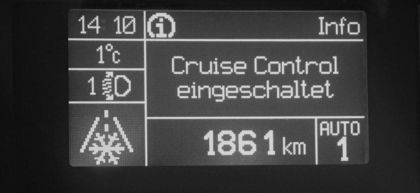 Weinsberg CaraBus 601 MQH Tempomat