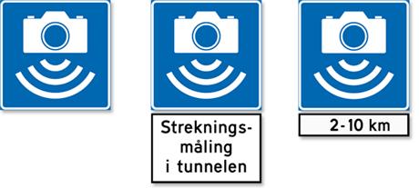 Automatisk trafikkontroll varsles med disseskiltene