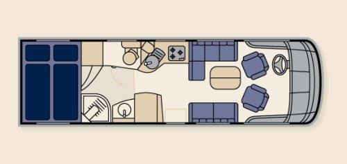 Planløsning for modellen Flair 710i CW