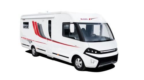 Kabe Travel Master 810 er sm nevnt en integrert bobil, det betyr at det er Kabe selv som har bygget karrosseriet.