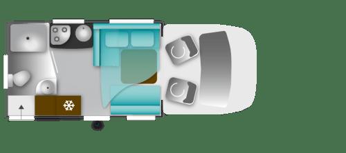 Planløsning til bobilmodellen Genesis 30