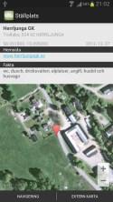 Stellplatz, bobilsteder, bobilparkeringer i Norge, Sverige, Danmark og Finland