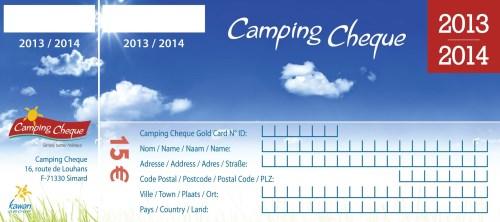 Bobilcamping med campingsjekker