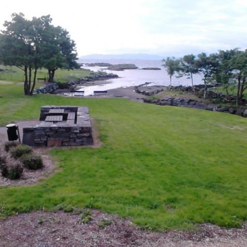 Rasteplass på Rennesøy, ca 20 minutters kjøring fra Stavanger.