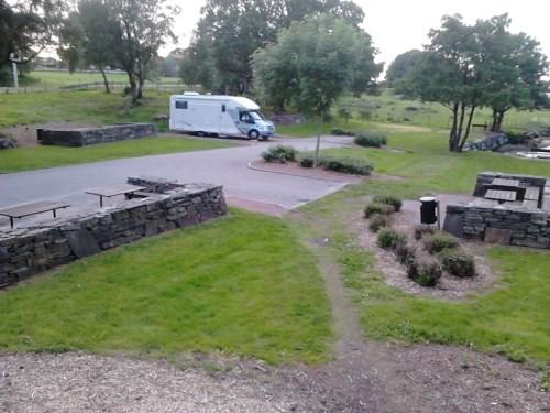 Bobilparkering og rasteplass på Rennesøy ved Stavanger