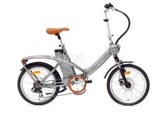 Sammenleggbar elektrisk sykkel til bobil og caravan