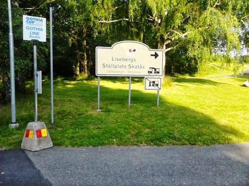 Lisebergs Ställplats - Bobilparkering i Gøteborg