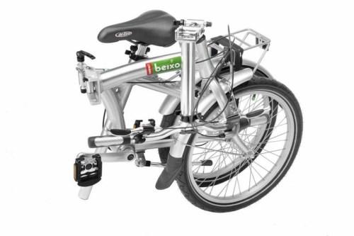 Sammenleggbar sykkel til bobil og campingvogn