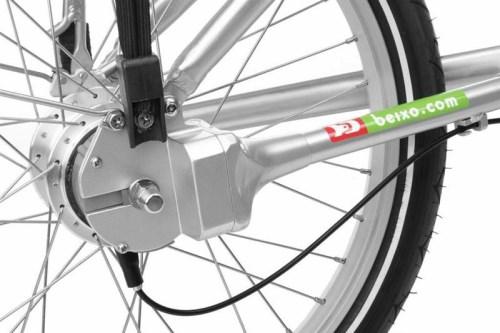 Sammenleggbar sykkel til campingbil
