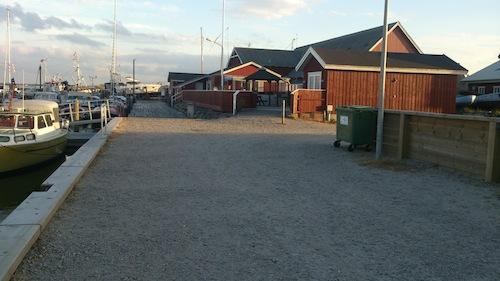 Bobilparkering Ålbæk, Danmark