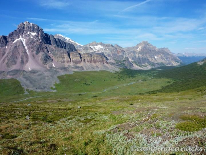 Looking north along Jonas Pass