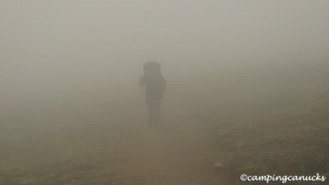 Into the fog we go