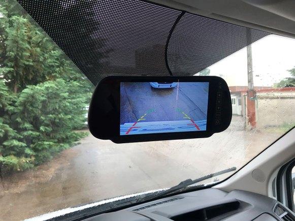 Horon Go 94 XT. Même sur un véhicule relativement compact, la caméra de recul est toujours un équipement apprécié.
