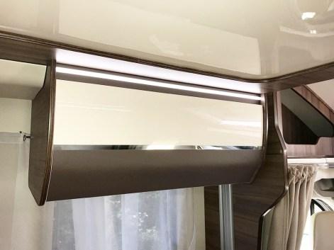 Un véritable effort de design a été fourni sur le mobilier de la gamme Evo.