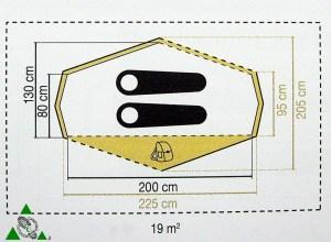 Coleman Libra x2 dimensioni