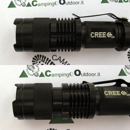 Torcia 600LM Cree Q5 LED Campeggio Escursione Caccia (6)