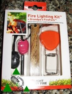 Kit per il fuoco Campeggio Boy Scout Light My Fire