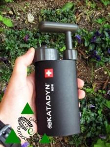 Katadyn Mini filtro per acqua da campeggio