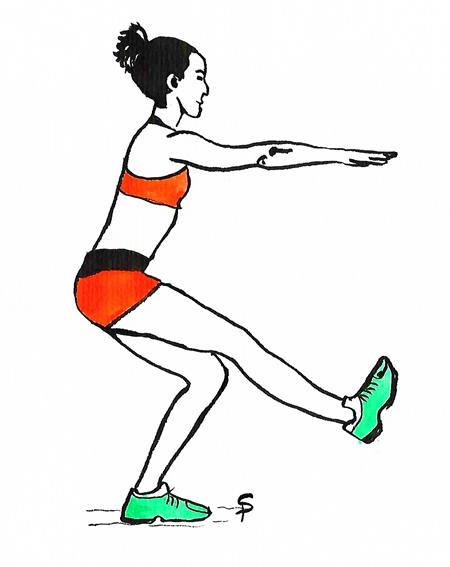Allenamento per l'arrampicata: le gambe.