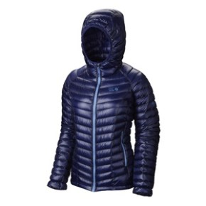 Piumino da donna Mountain Hardwear Hooded Ghost Whisperer
