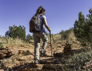 Hiking in the desert 4